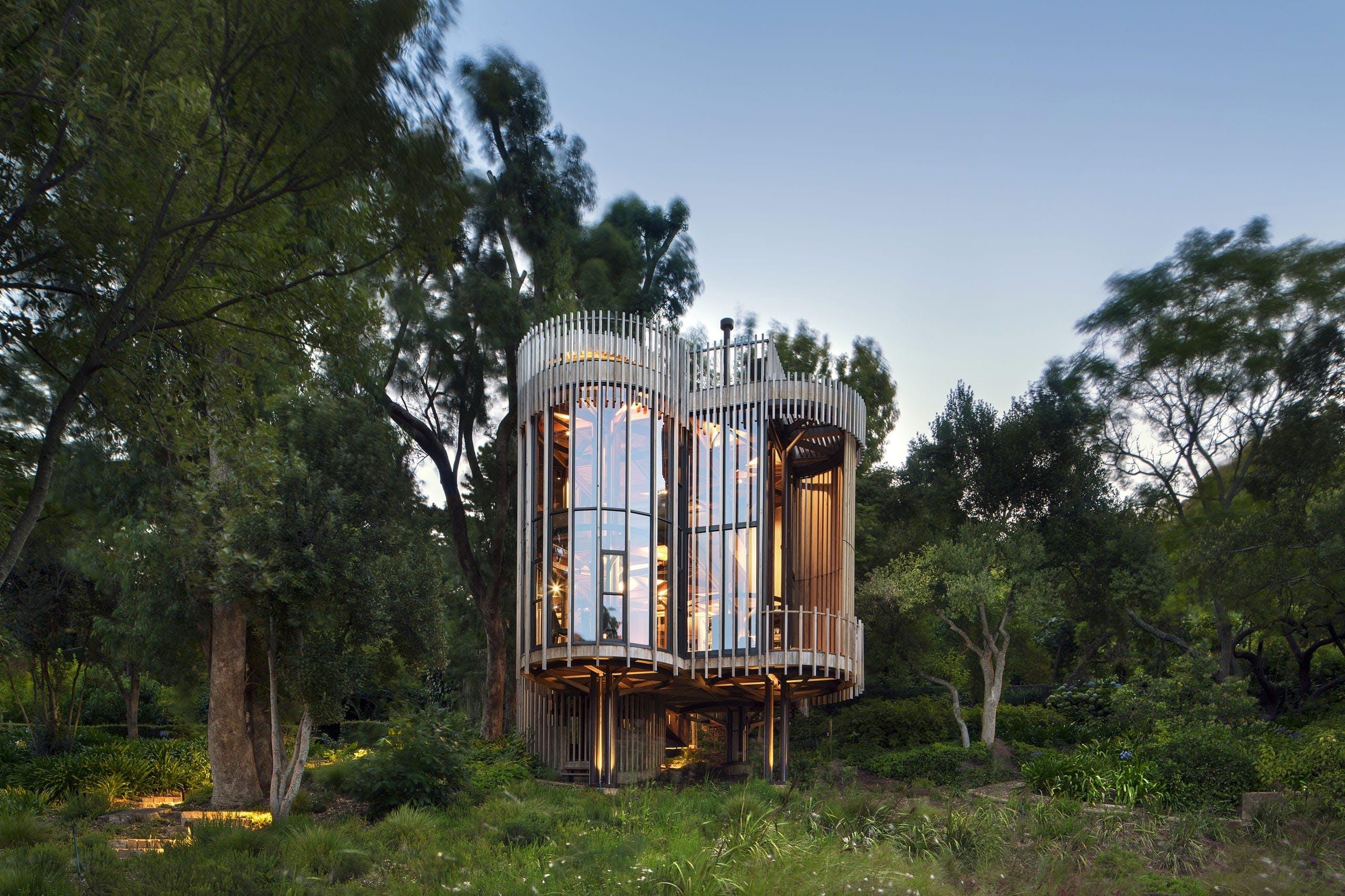 Arkitektur træhus træhytte