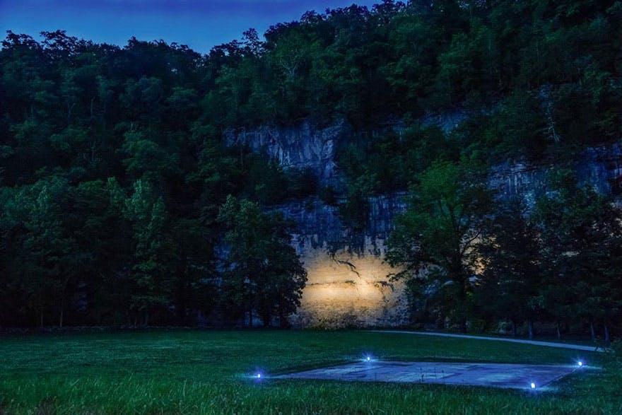 natur bjerg skov helikopter grotte