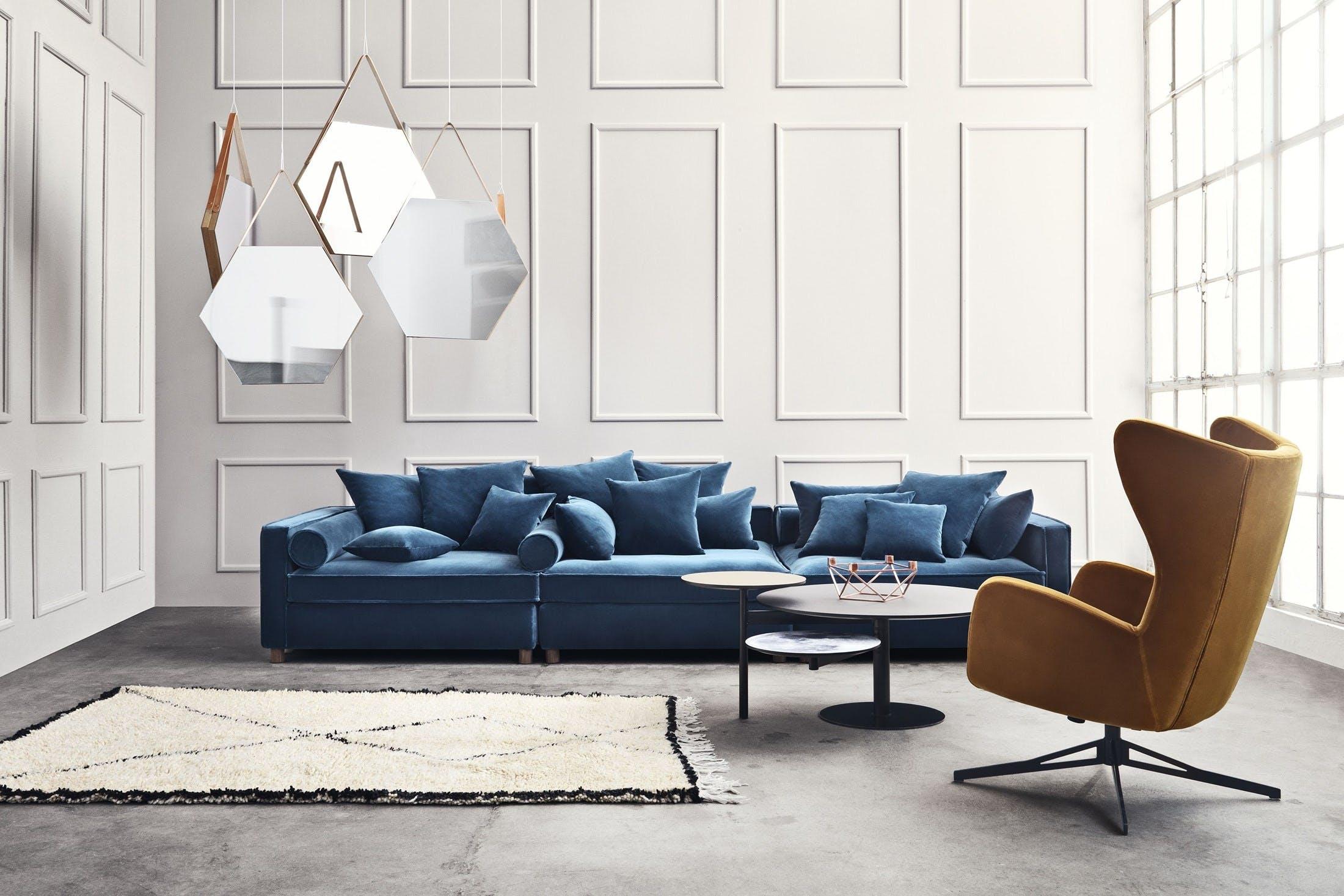 12 sofanyheder i velour og fl jl. Black Bedroom Furniture Sets. Home Design Ideas