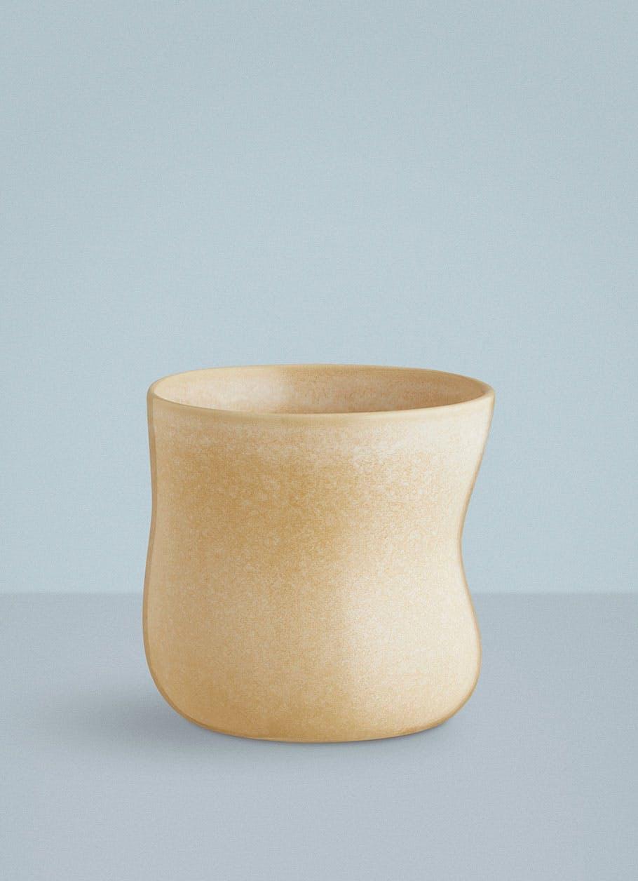 Kähler kop gul kaffekop keramik