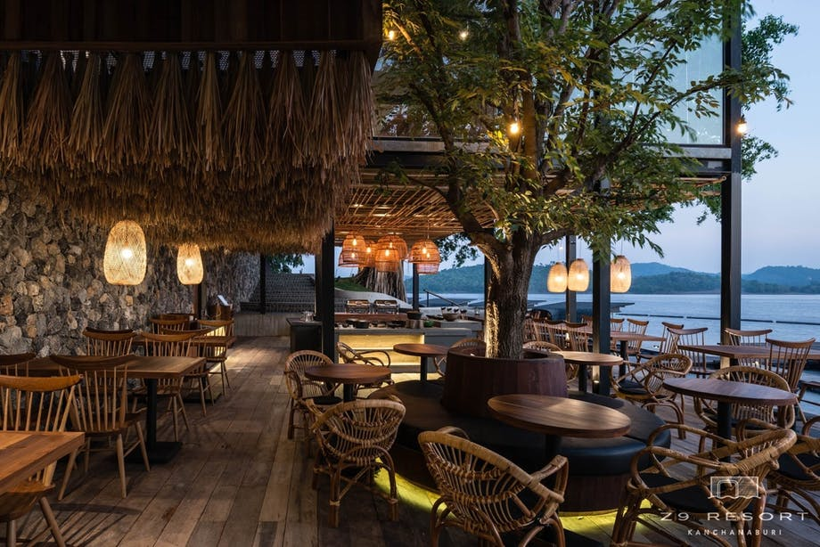 Hotel Thailand veranda restaurant