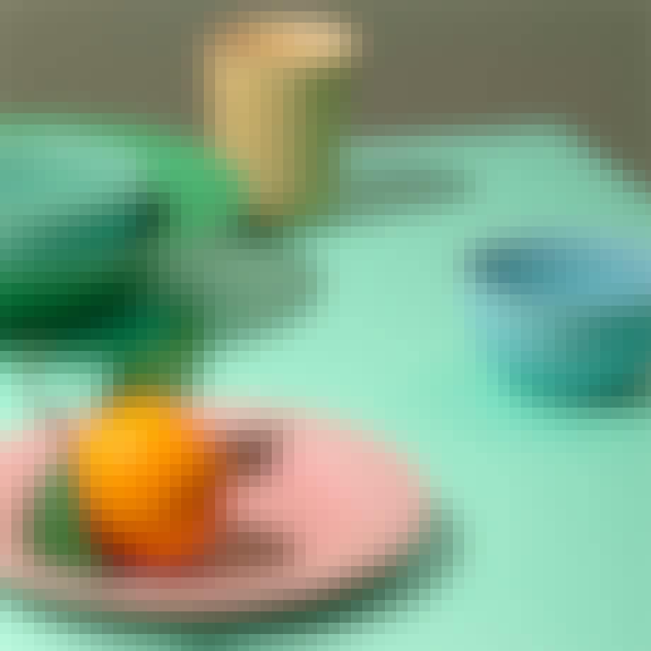 Lyngby Porcelæn Rhombe frokosttallerken