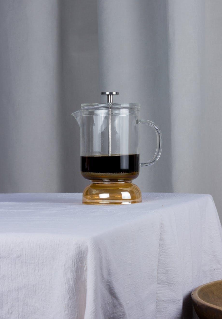 Matias Moellenbach stempelkande french press kaffe