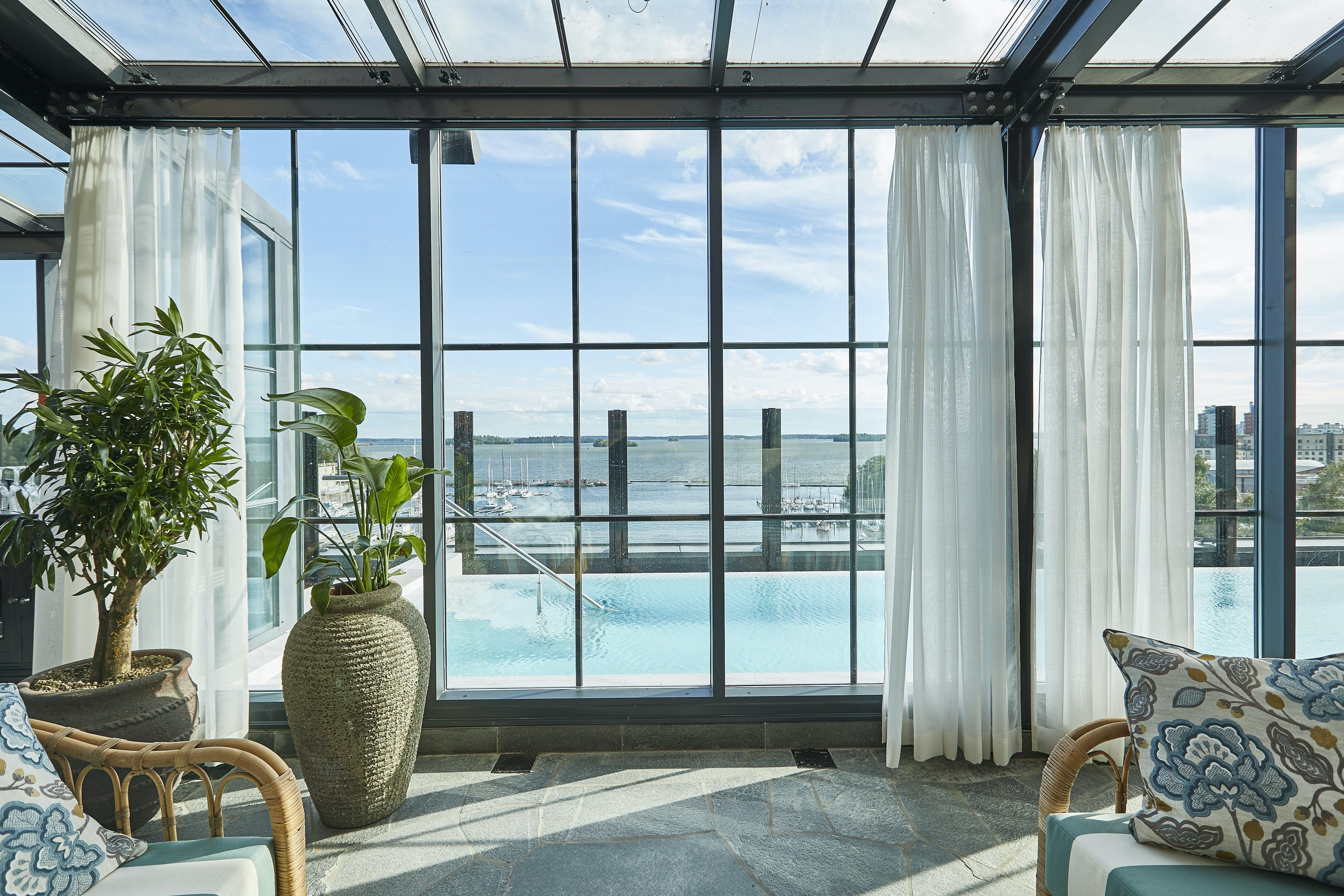Hotel spa pool luksus