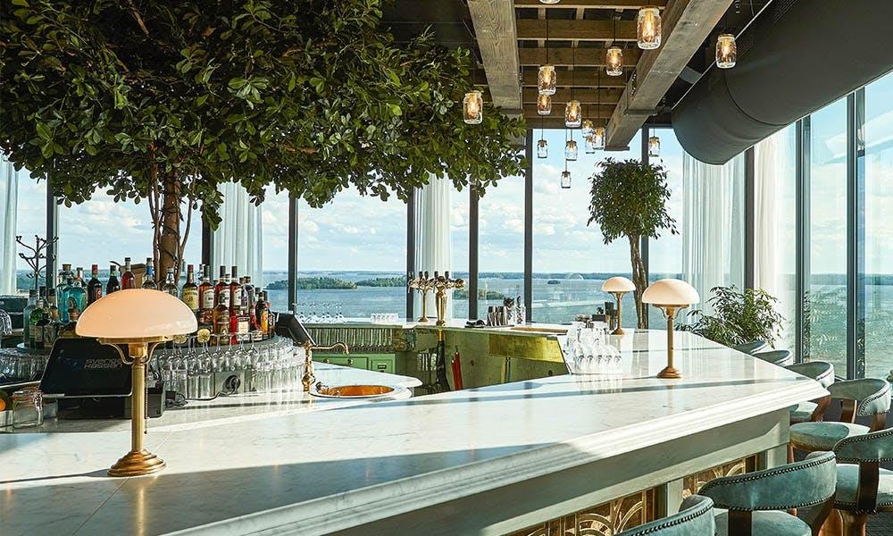 Bar drinks restaurant marmor