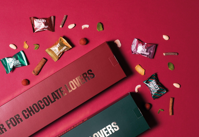 Simply Chocolate julekalender chokolade