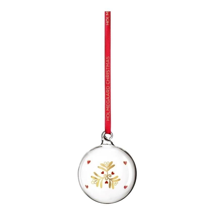 Julekugle ornament guld