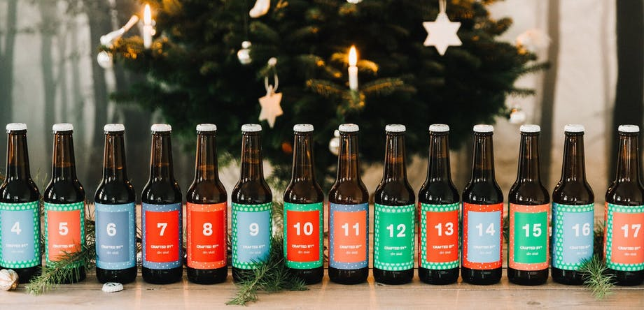 crafted by julekalender øl