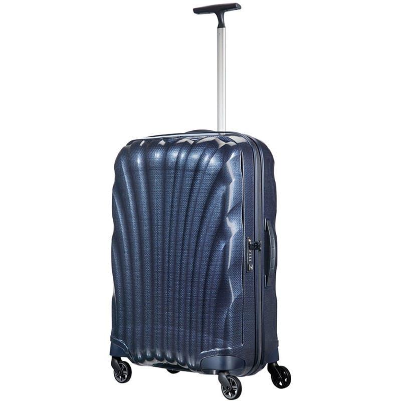 Samsonite blå kuffert til julegave