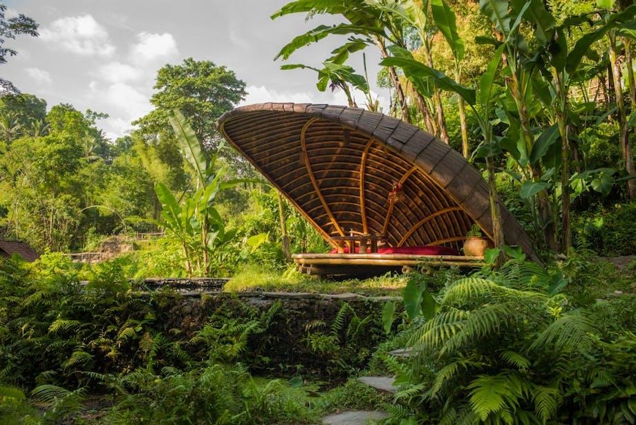 Bambus restaurant arkitektur