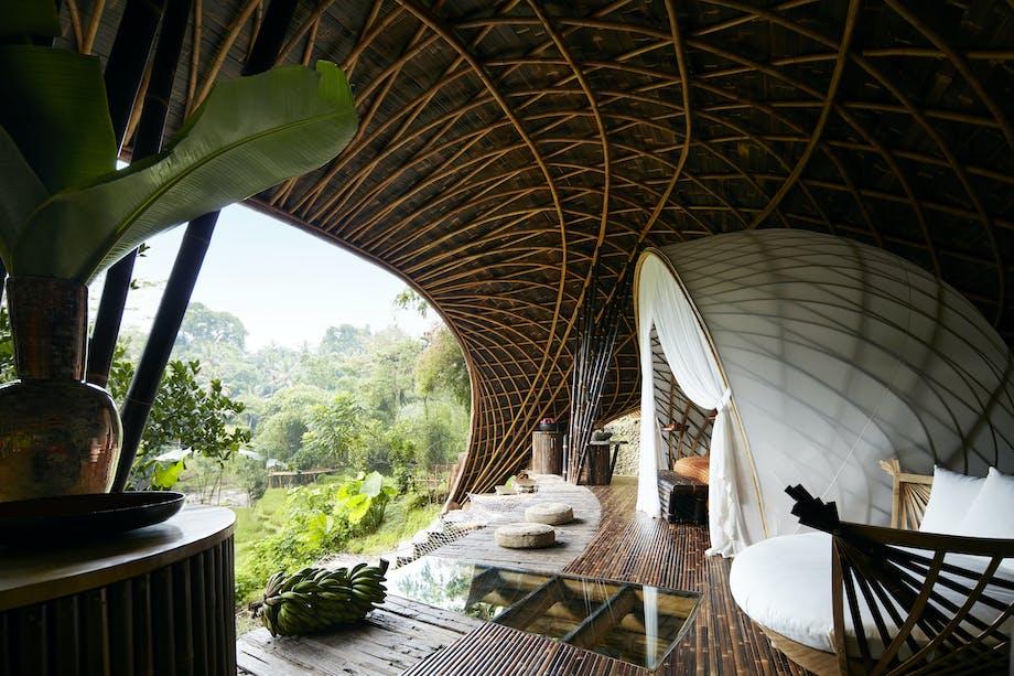 Hotel værelse bambus luksus