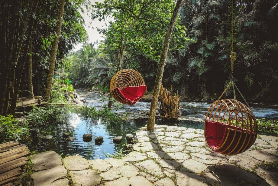 luksushotel jungle bali