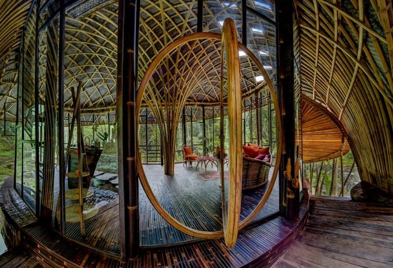 Indretning arkitektur bali bambus