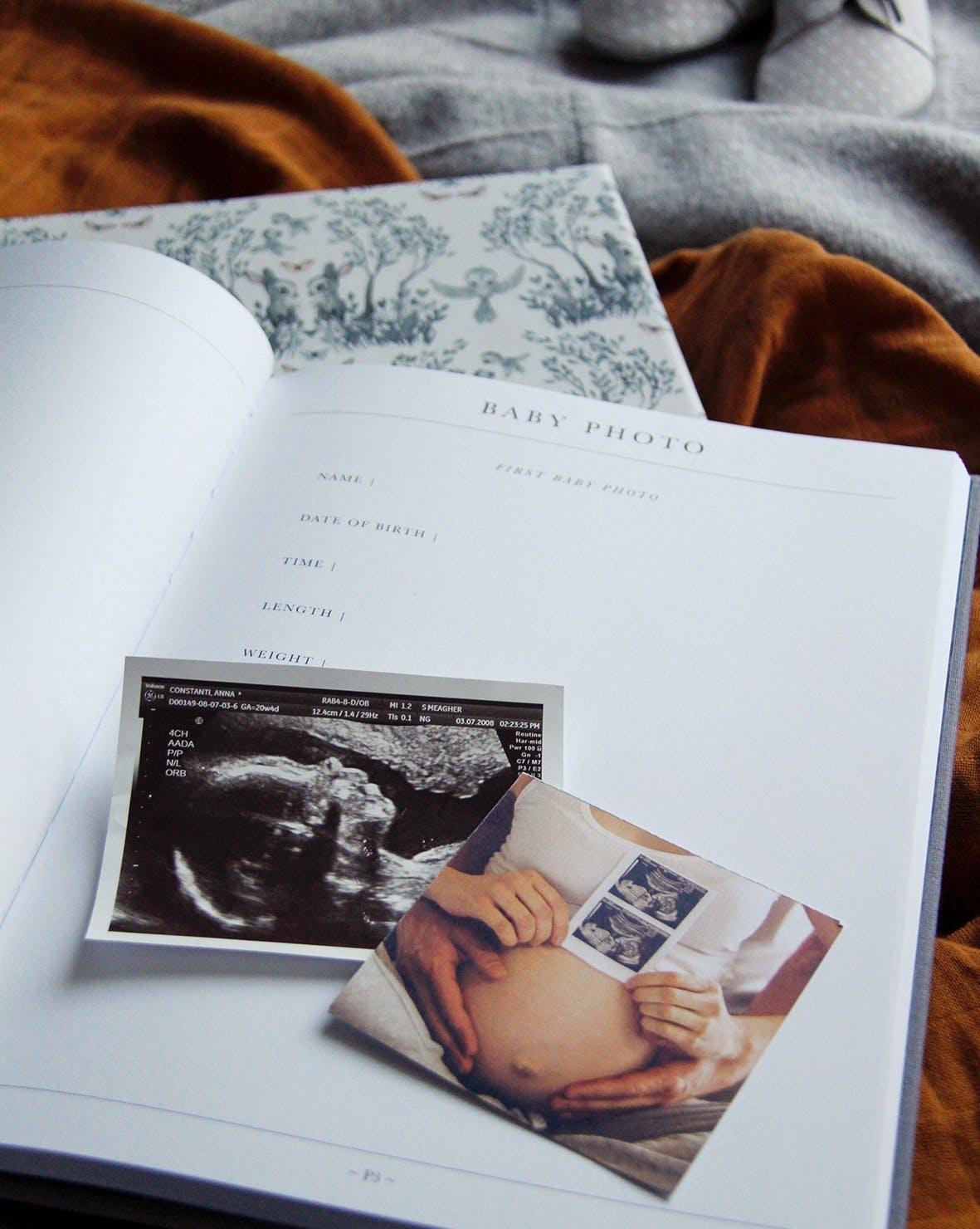 dagbog babybog førstebog