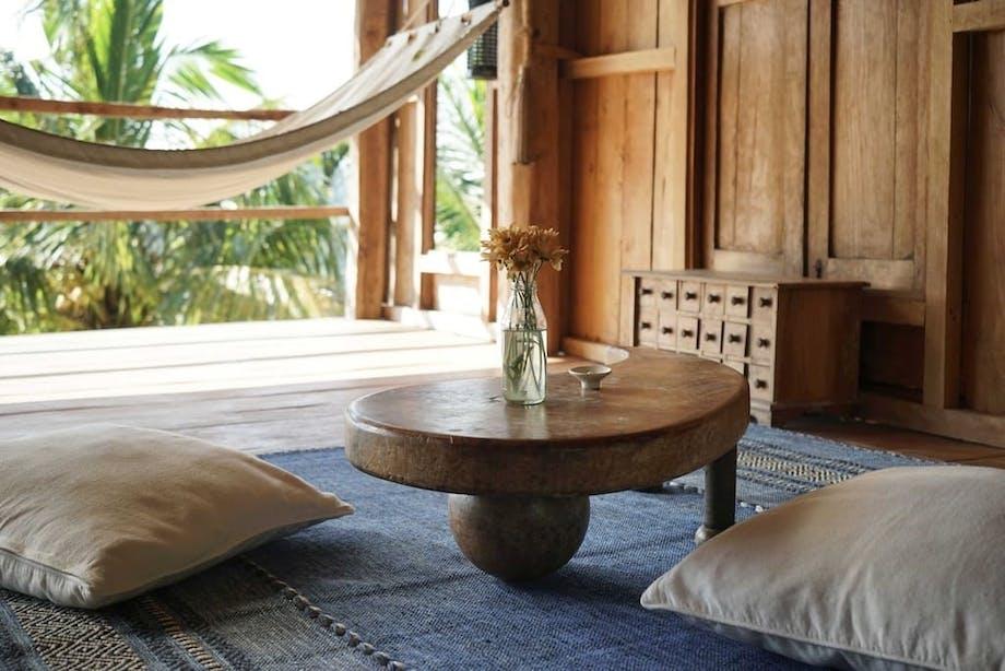 Bambus hytte Bali