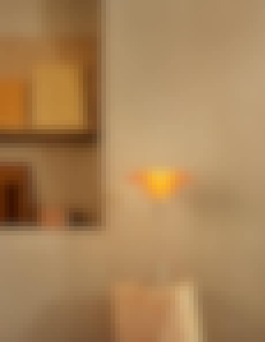 ph lampe limited edition ravfarvet