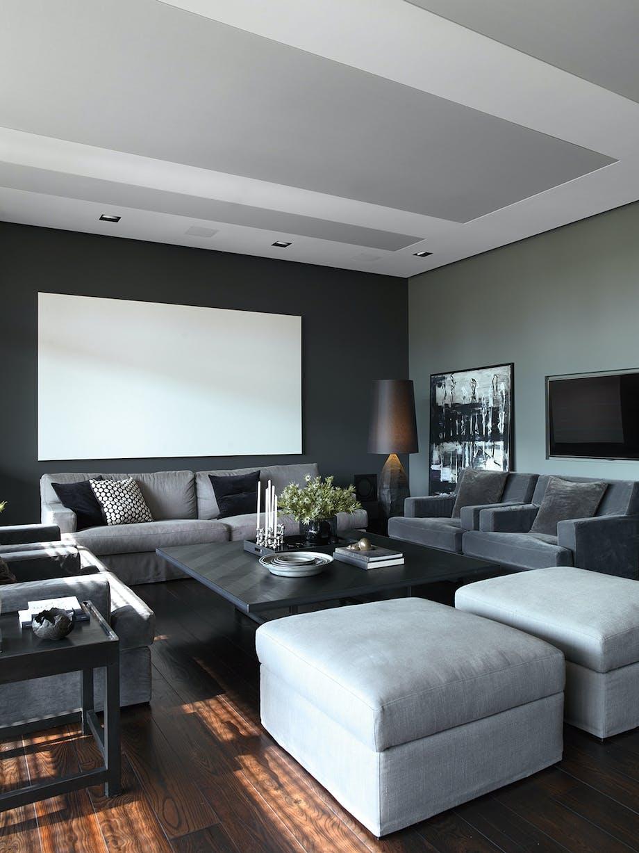 stue sofa hvid puf skærm
