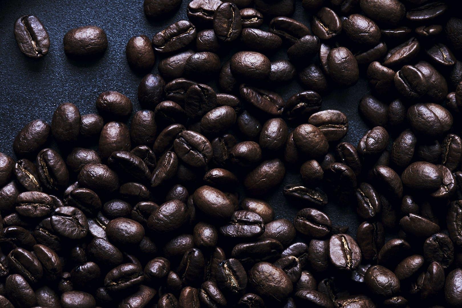 kaffe kaffekorn bønner