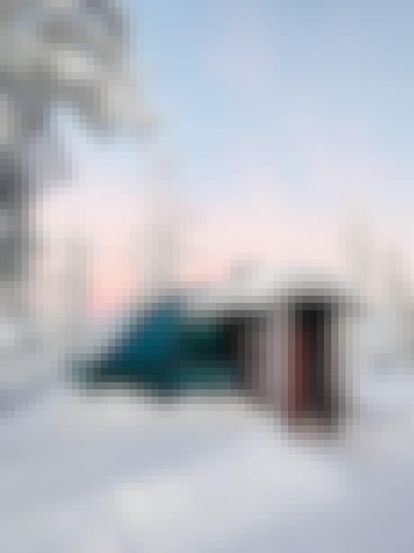 iglo sne lapland