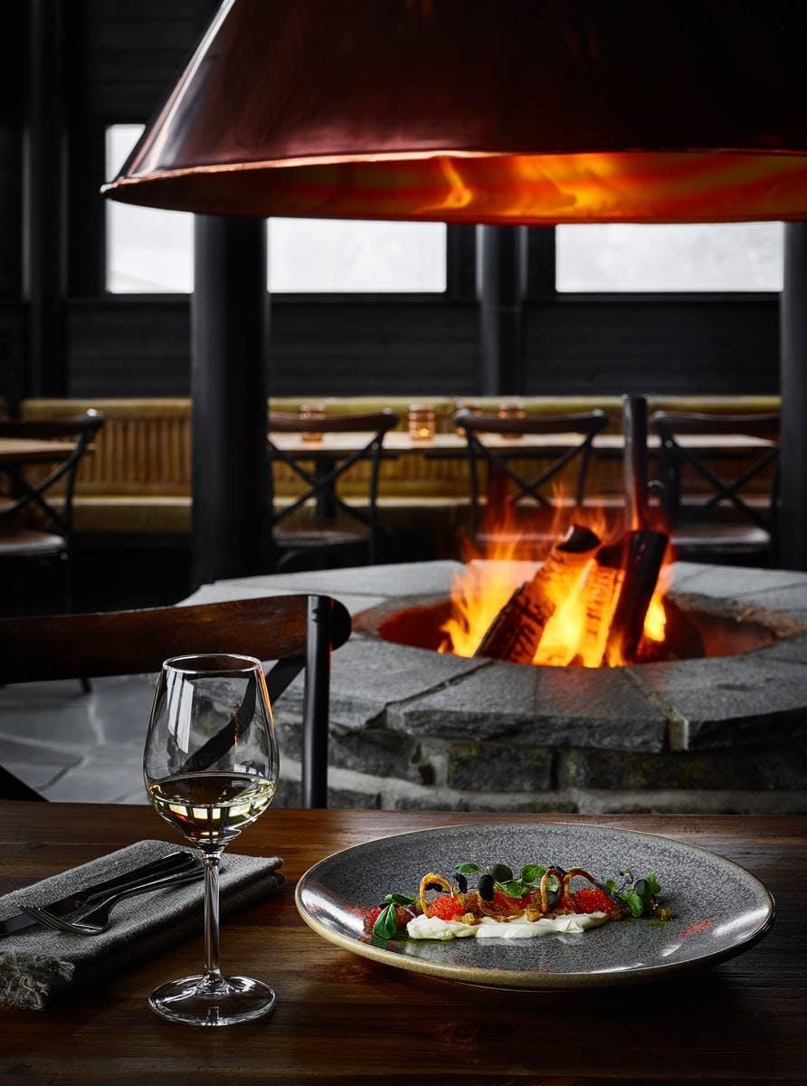 Restaurant hotel lapland