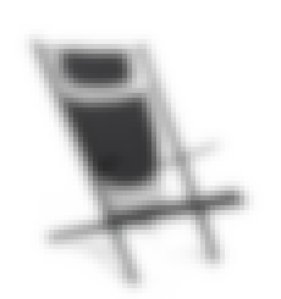 Poul M Volther goliat sort lænestol