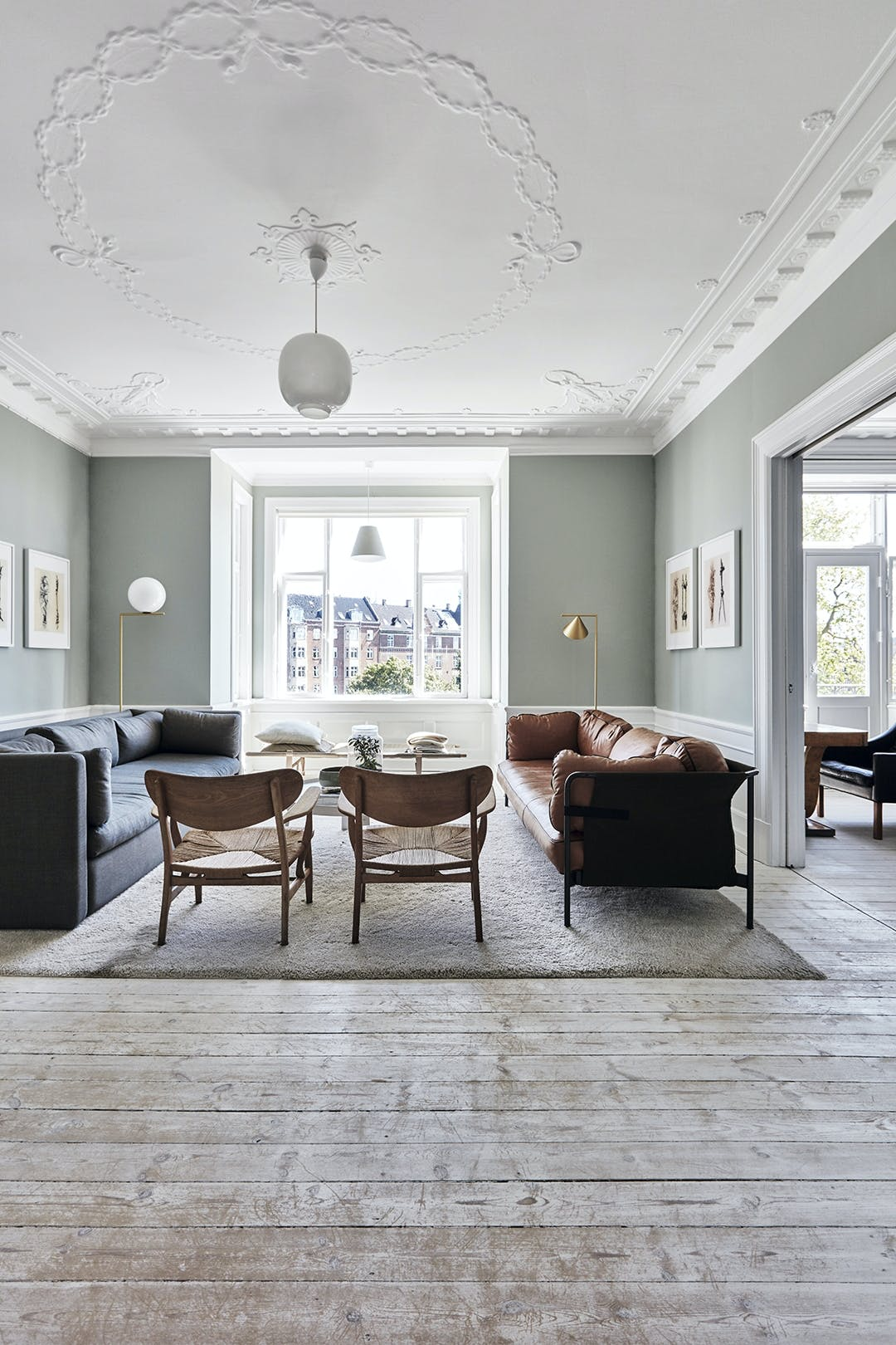 Stue sofa gulvtæppe