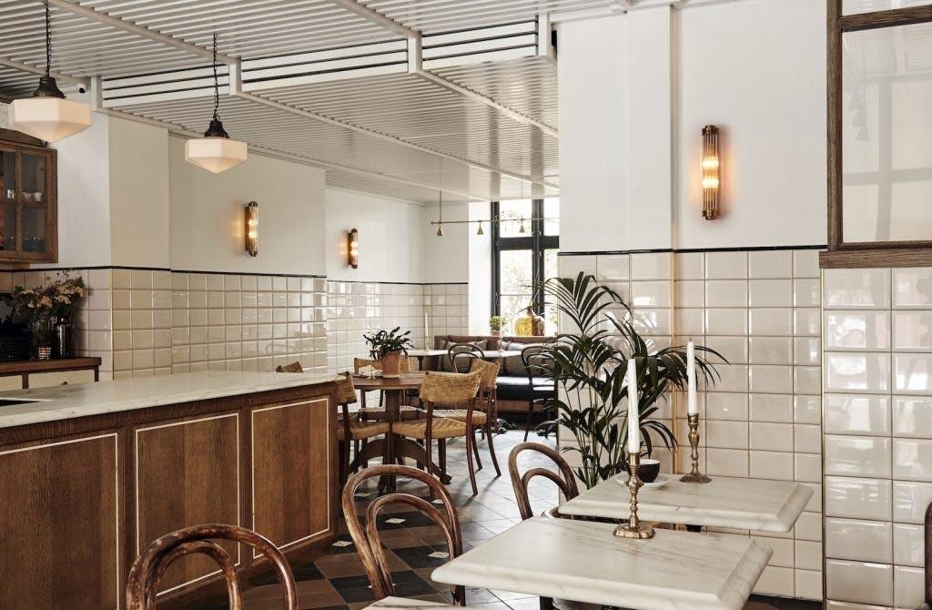 hotel sanders restaurant cafe spisestue