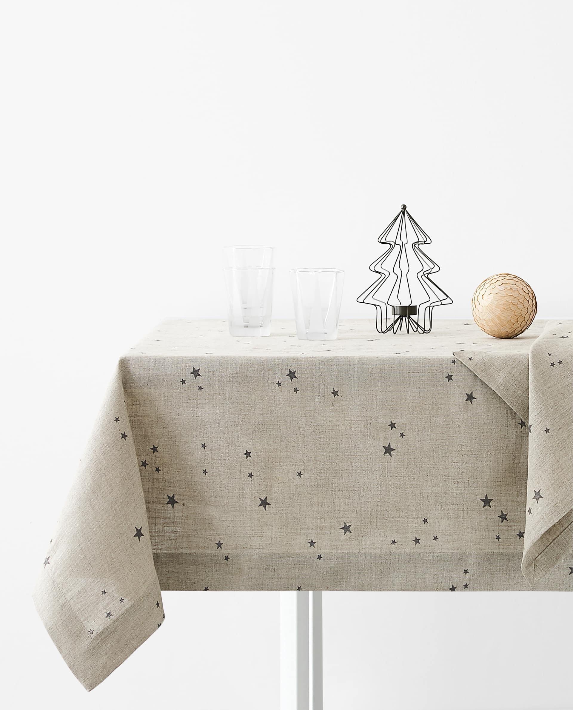 Juledug borddækning