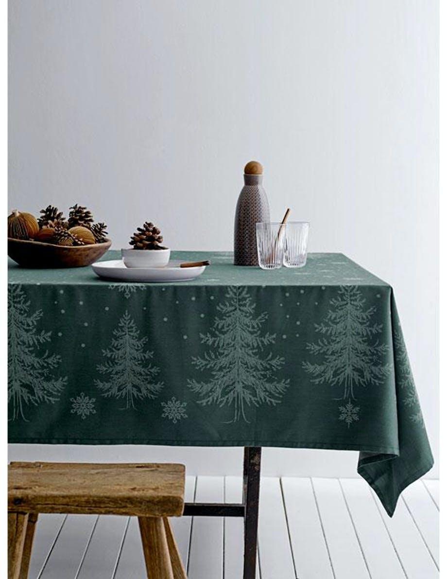 Juledug borddækning jul
