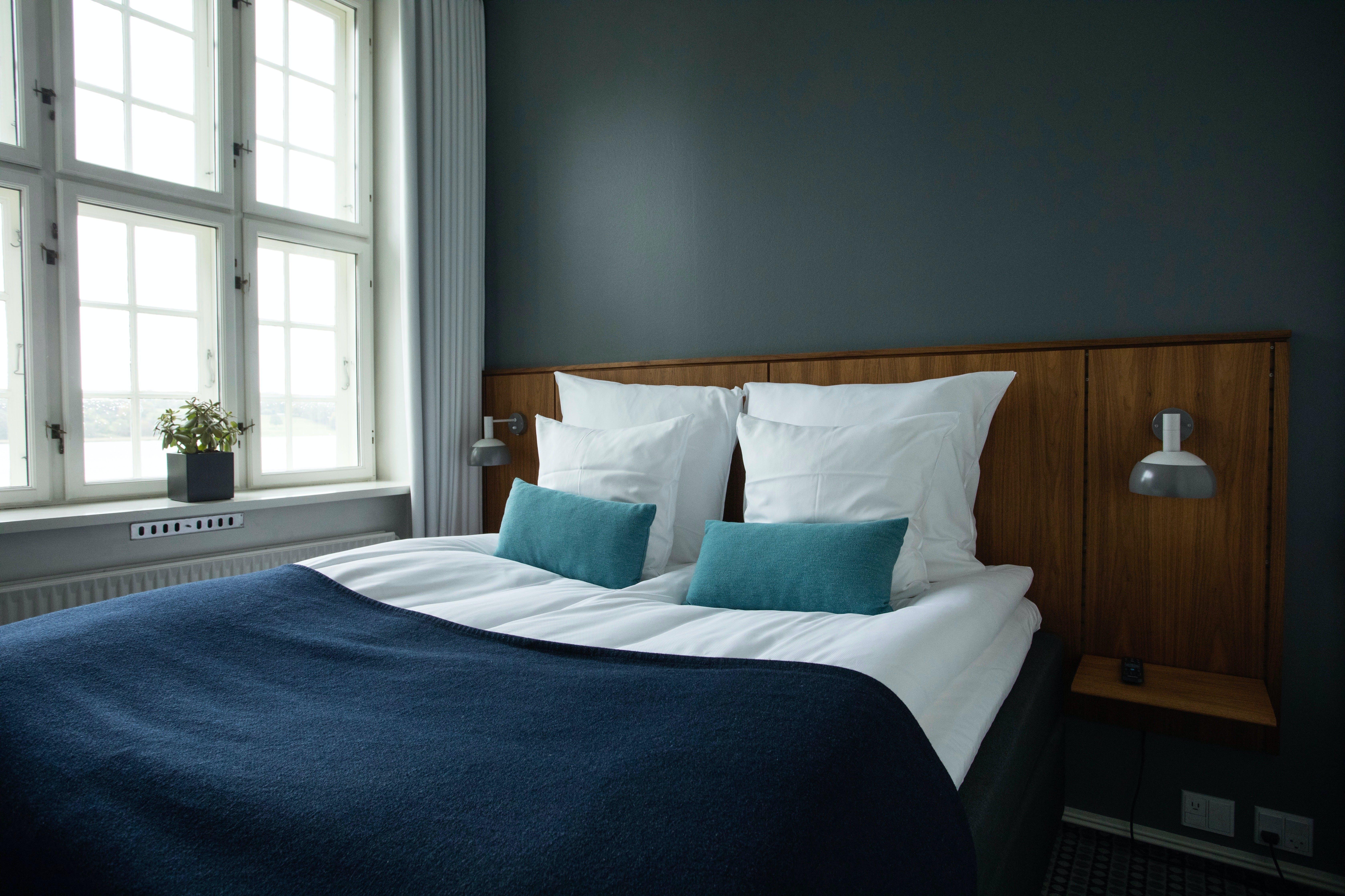 Hotel soveværelse seng