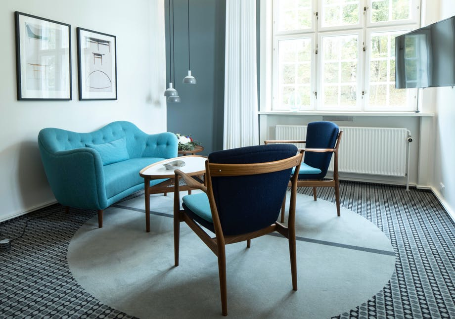 Lounge sofaområde FinnJuhl