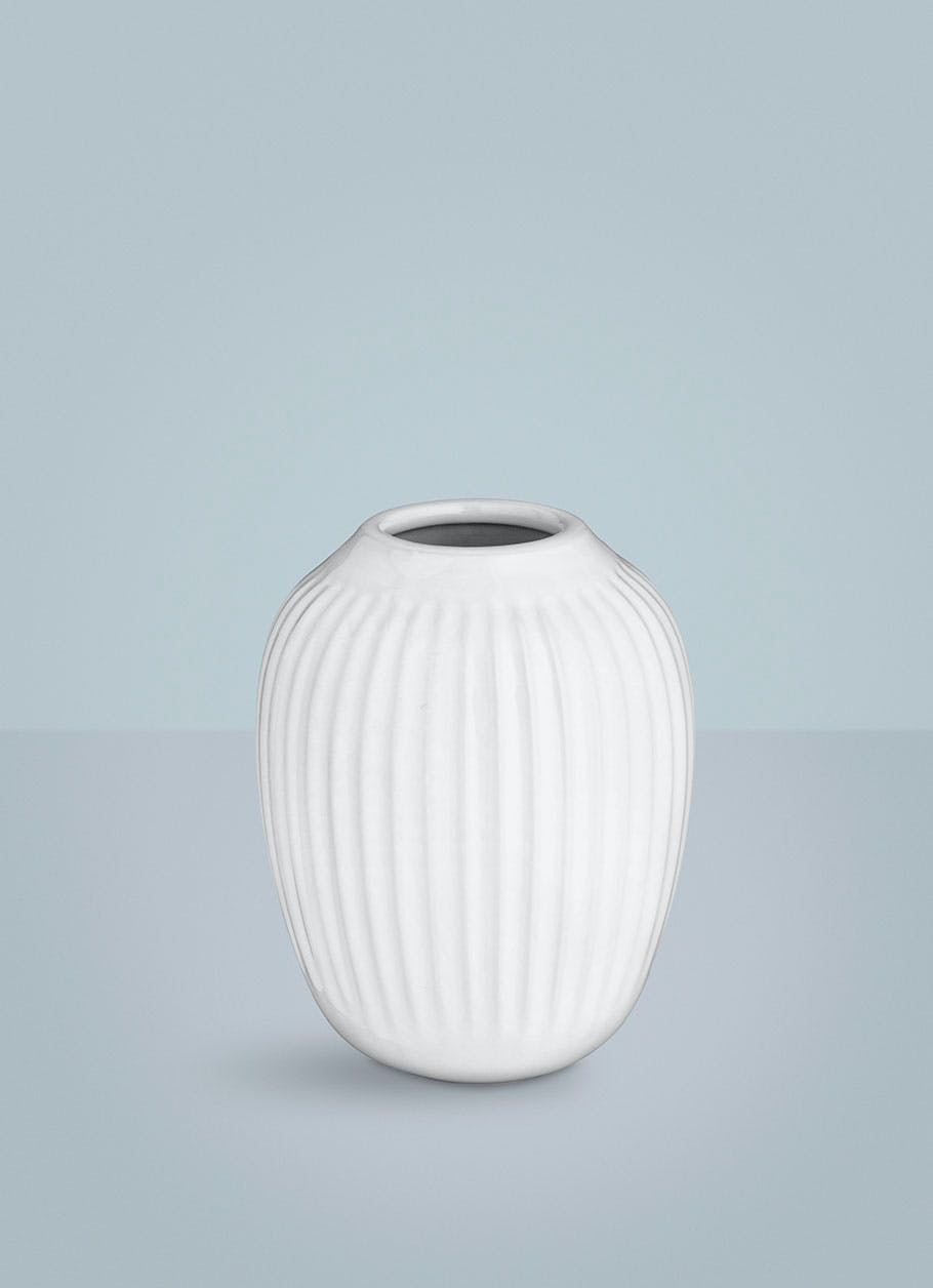 kähler hammershøi vase hvid