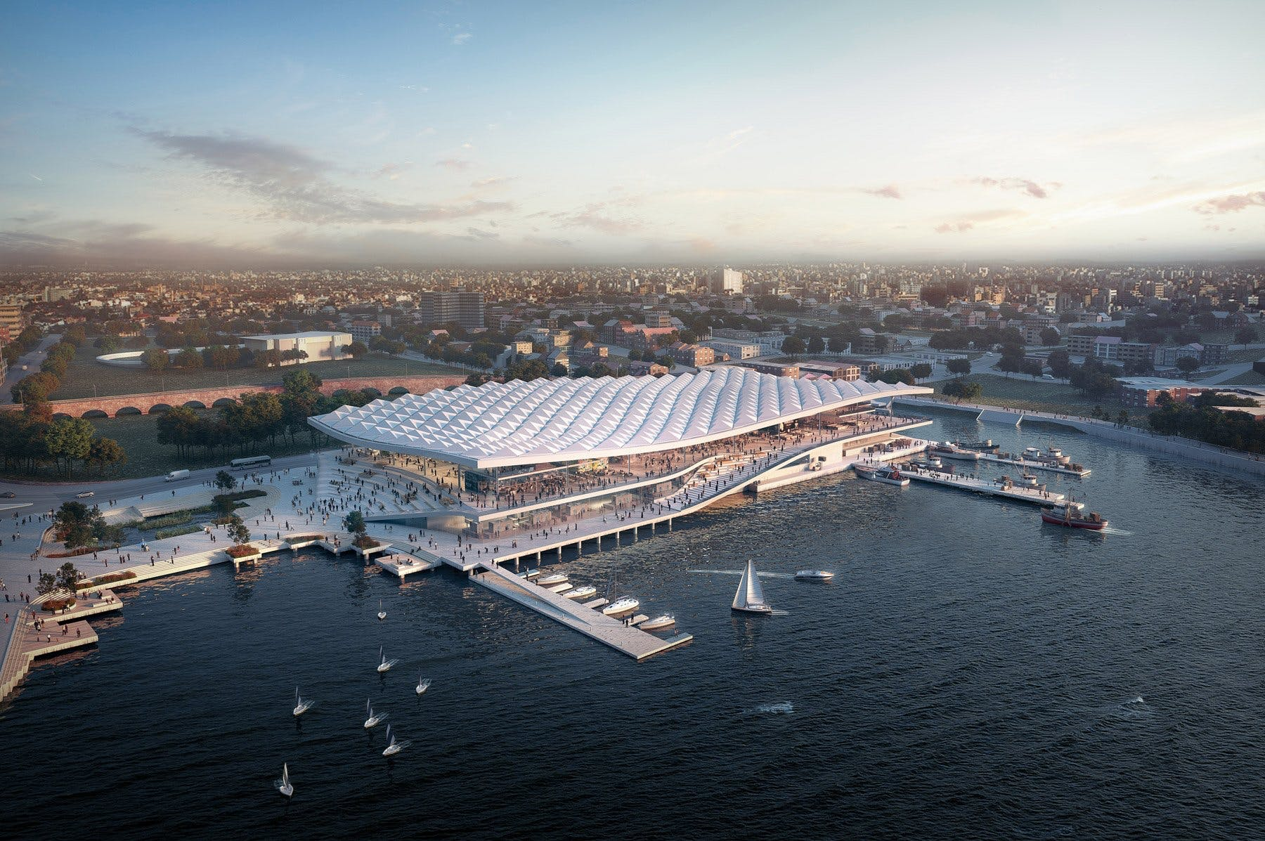 3XN design sydney fish market