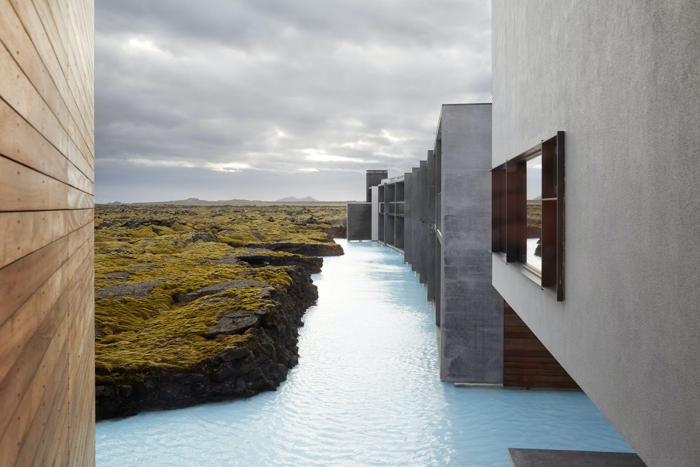 Blå lagune island hotel