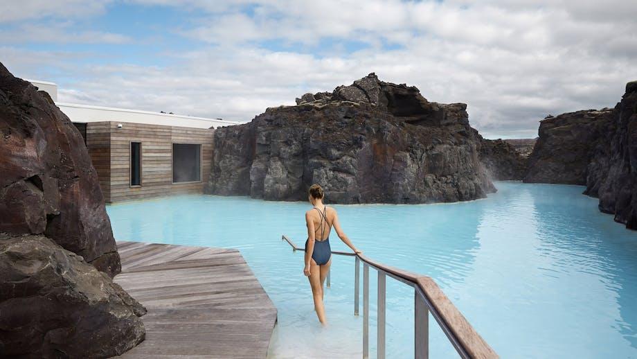 Blå lagune hotel luksus