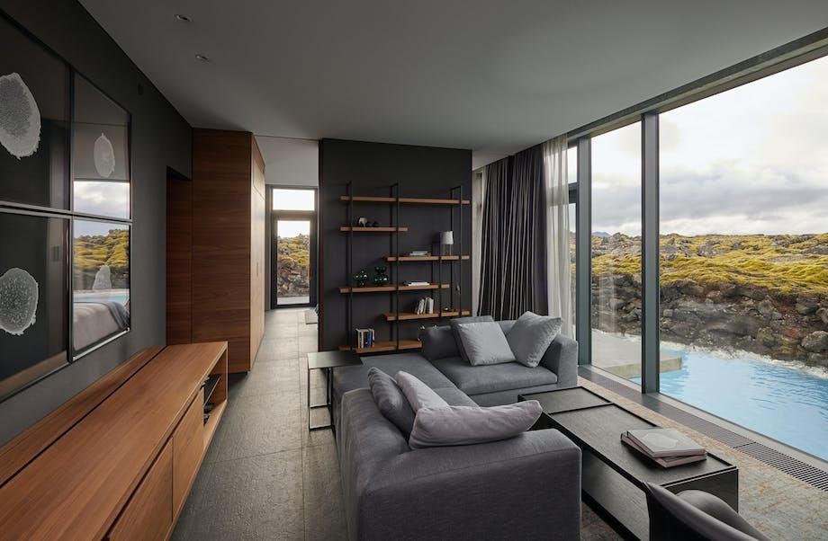 Hotel værelse blå lagune