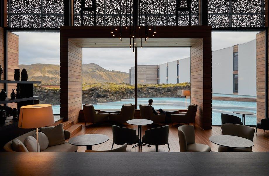 Hotel island lounge luksus