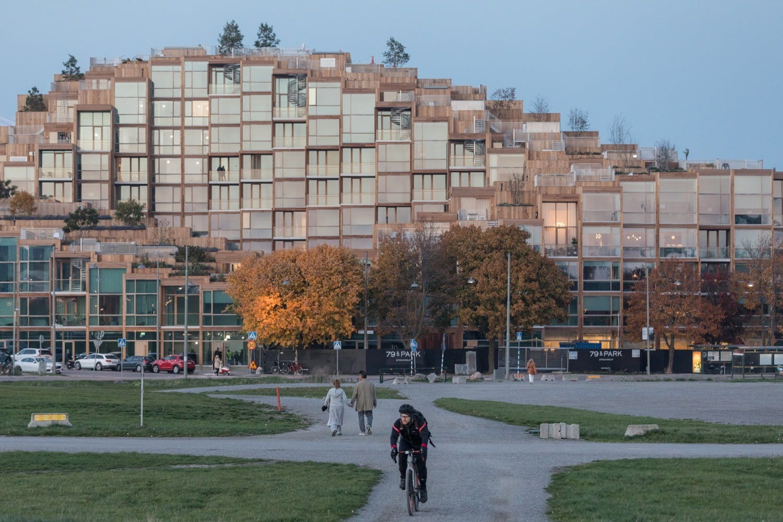 BIG bygning arkitektur stockholm Gärdet