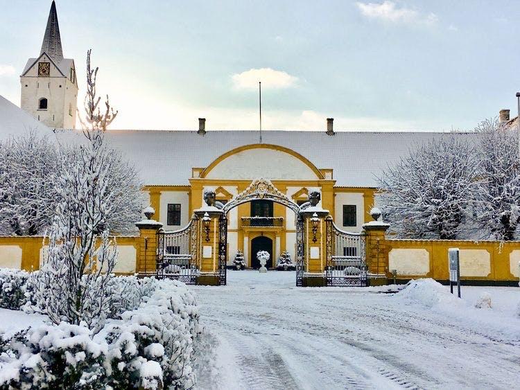 Dronninglund slot jul på slottet juleudstilling