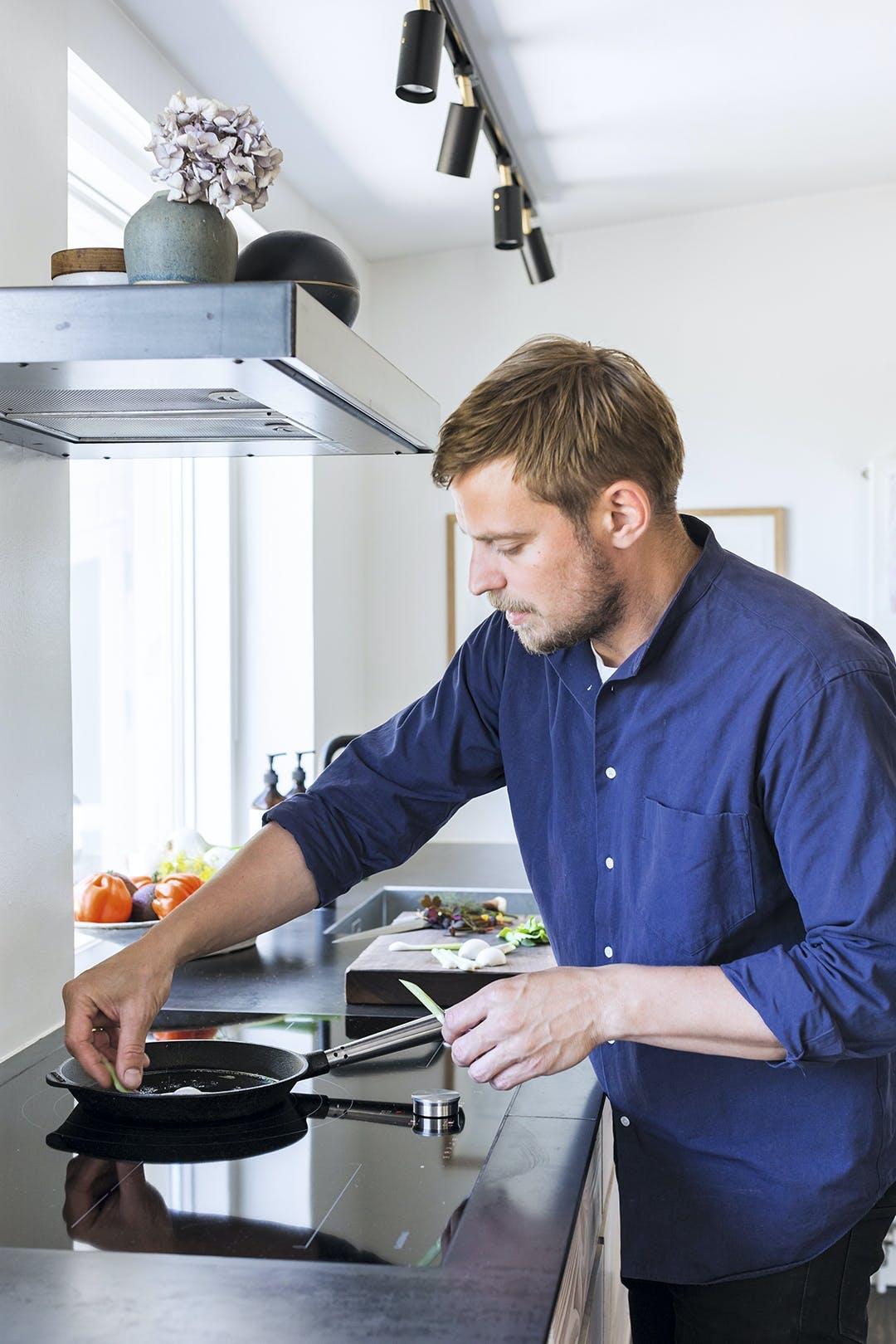 Køkken kok mad