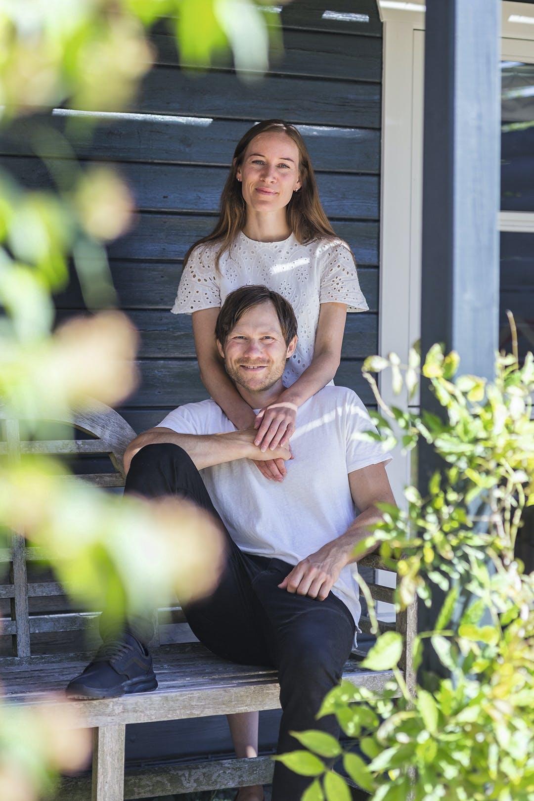 træhus kokke par