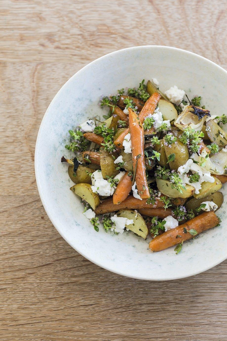 Salat mad skål
