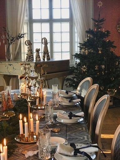 julebord jul juleudstilling Dronninglund slot