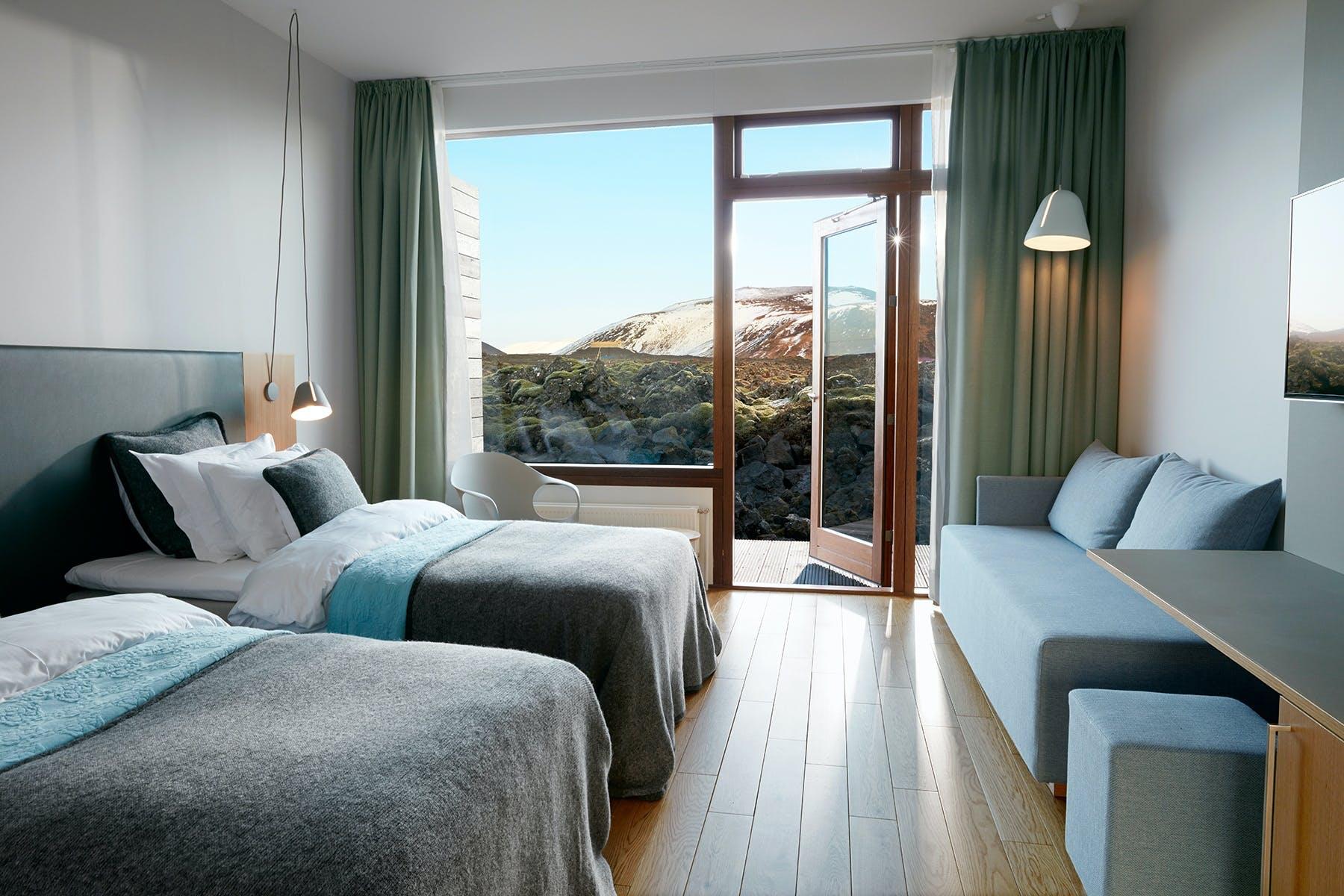 Hotel værelse luksus island