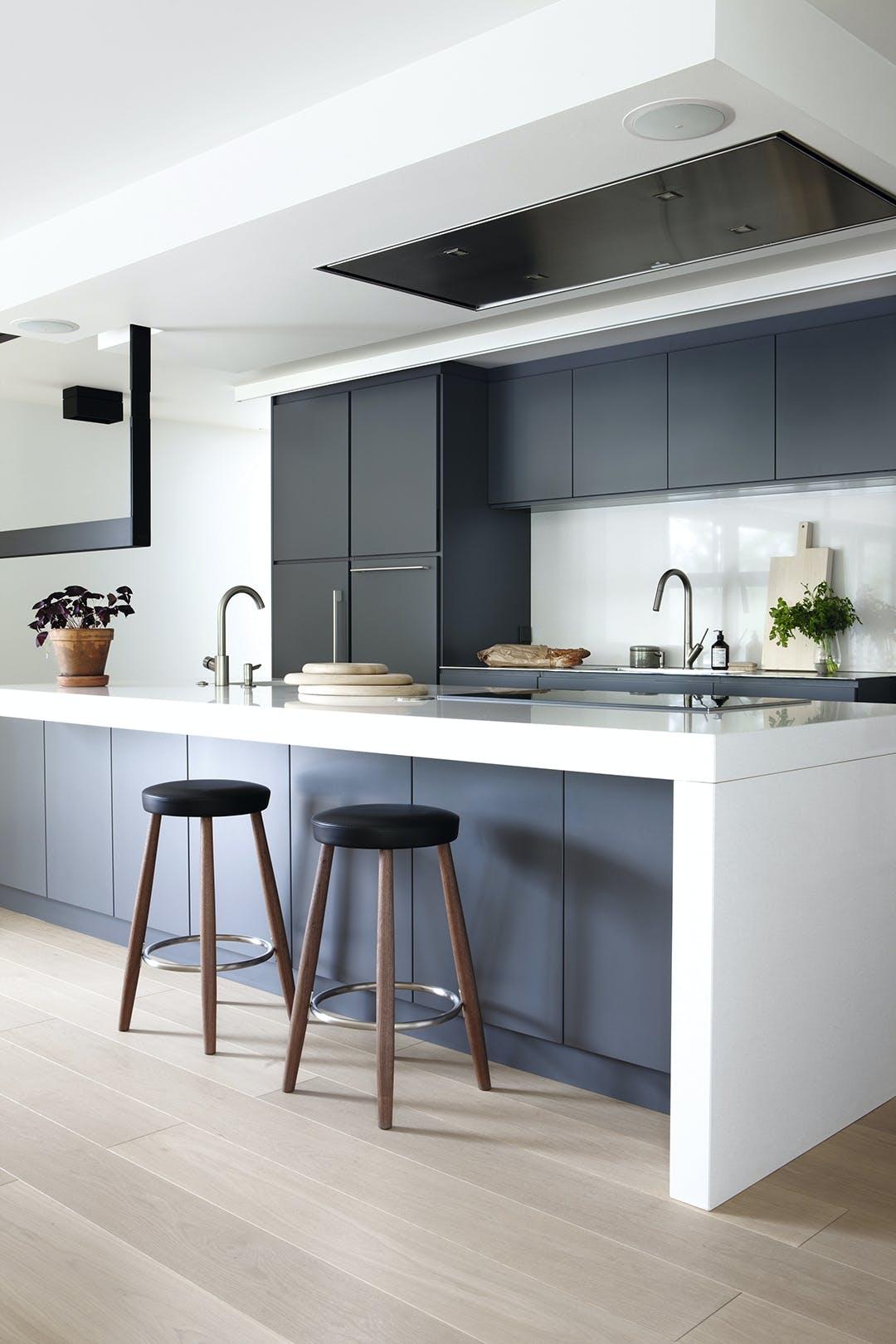 Køkken grå minimalisme