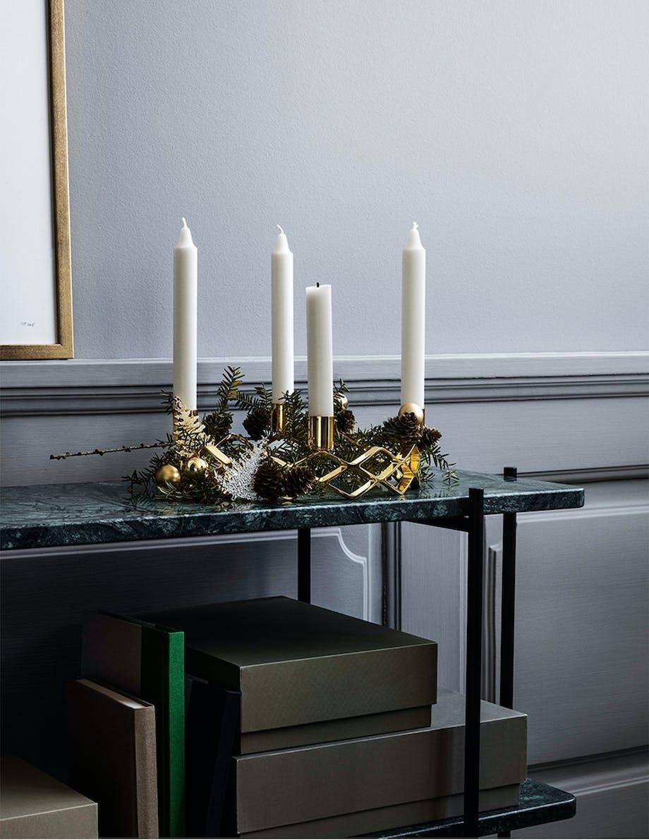 adventskrans jul lys