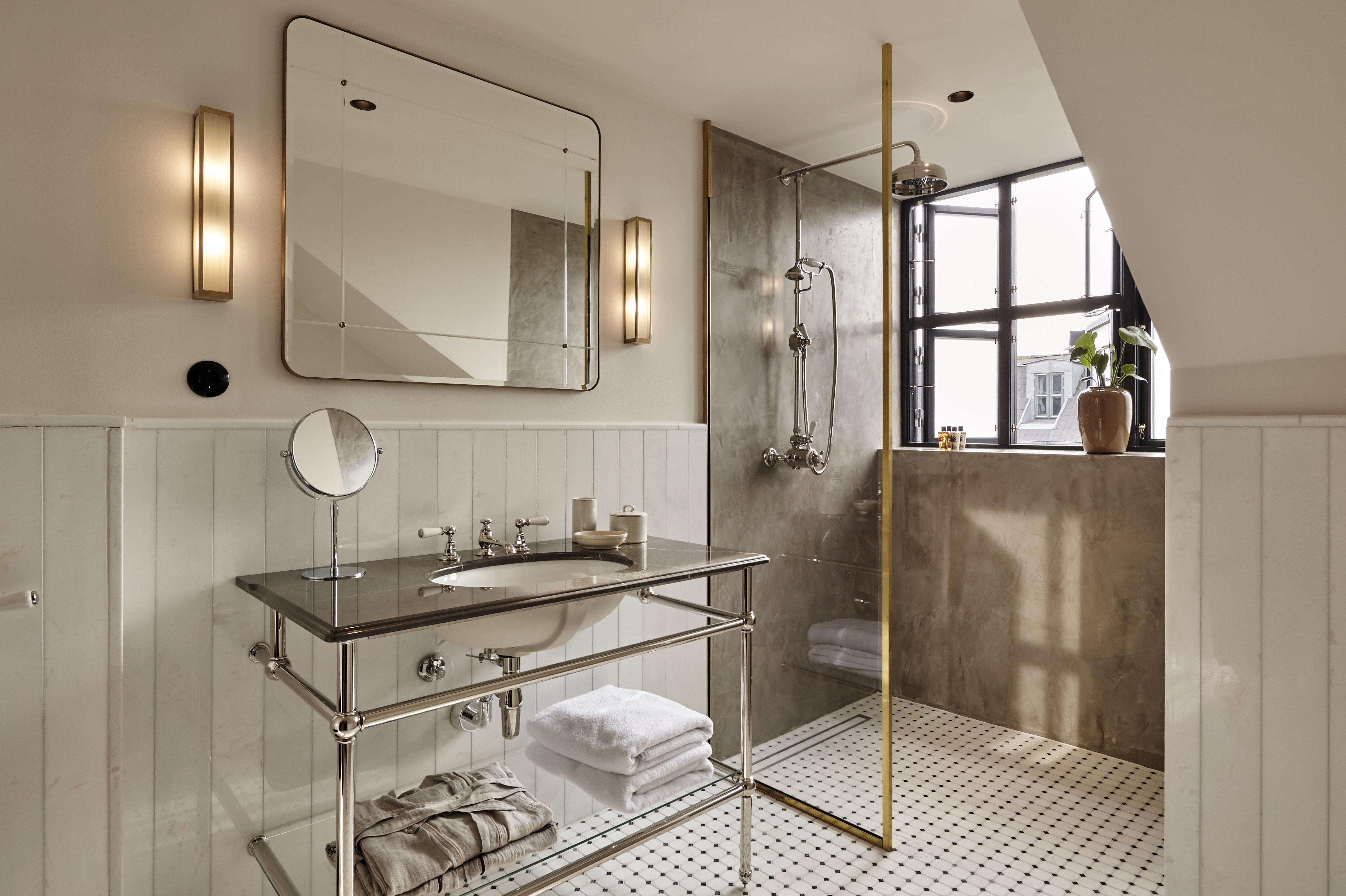 hotel sanders badeværelse messing københavn