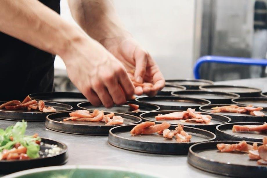 forret fisk restaurant nytår
