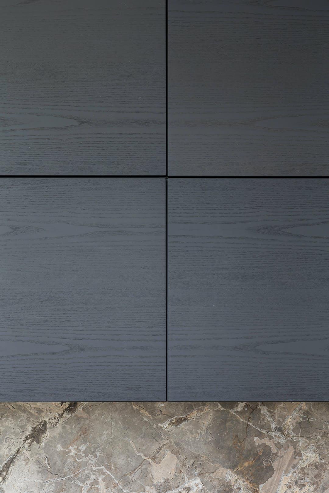 marmor sort køkken boform