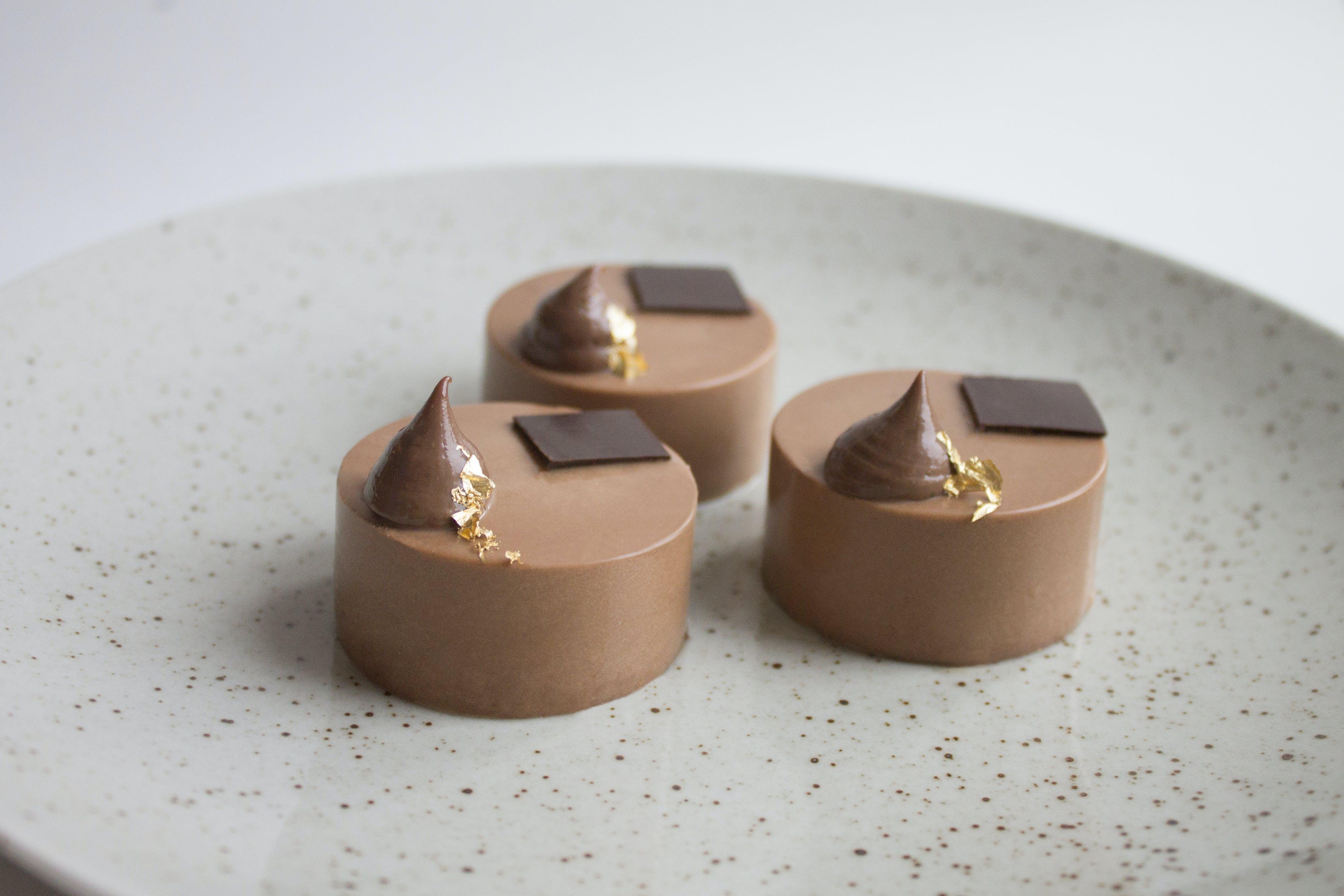 chokoladekage brownie ganache peanut